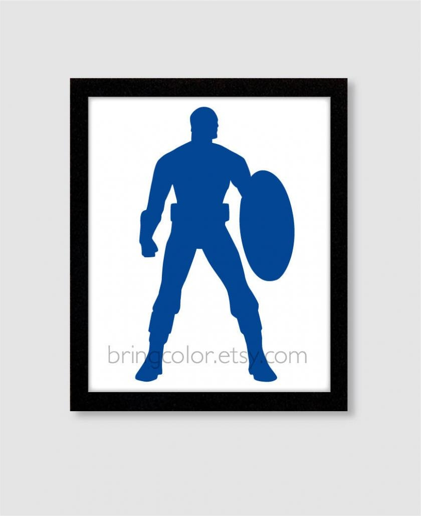 840x1029 Photo Gallery Of Captain America Wall Art (Viewing 13 Of 19 Photos)