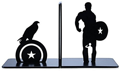 463x275 Kiuzu Bookend Heroes Captain America Gifts For Geeks
