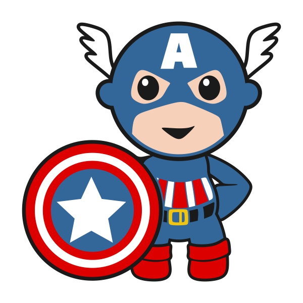 600x600 Superhero Baby Boy With Thor, Captain America, Hulk, Vision, Iron