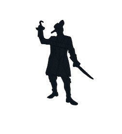Captain Hook Silhouette