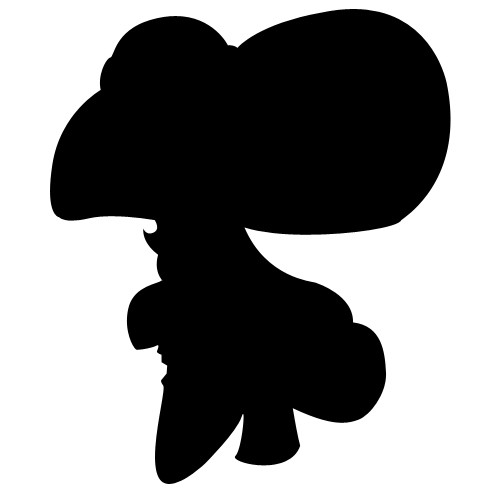 500x500 The Silhouette Of Hook By Potionmistress37