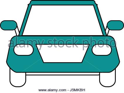 424x320 Colorful Silhouette Automobile Vehicle Transport Stock Vector Art