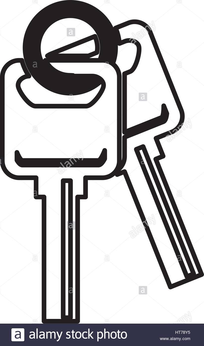 822x1390 Car Key Silhouette Icon Stock Vector Art Amp Illustration, Vector