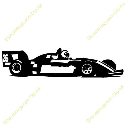 500x500 Racecar Flock Amp Applique Clipart Images, Sports