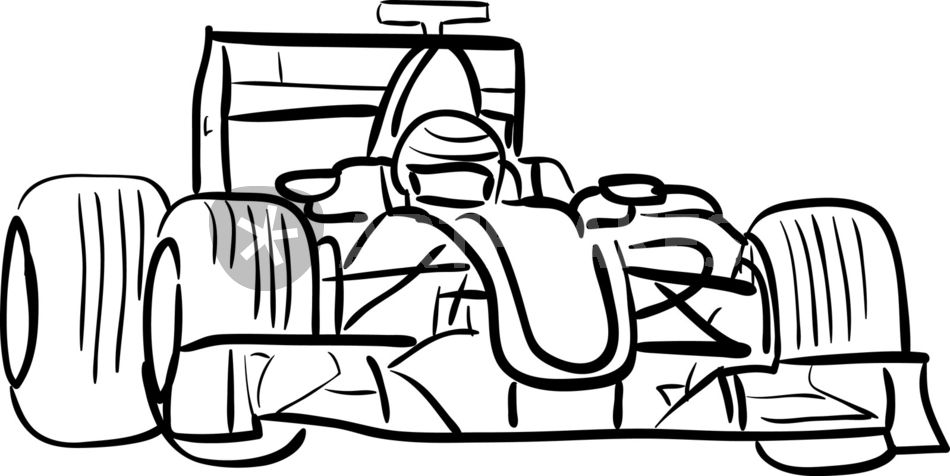 Car Racing Silhouette At Getdrawings Com