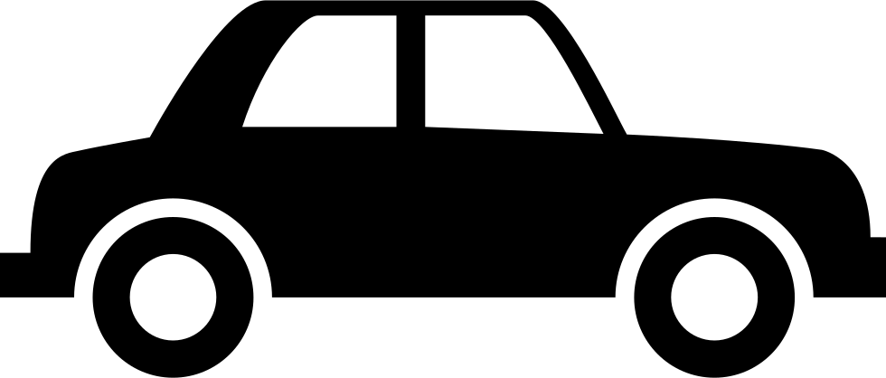 980x418 Vintage Car Silhouette Of Side View Svg Png Icon Free Download