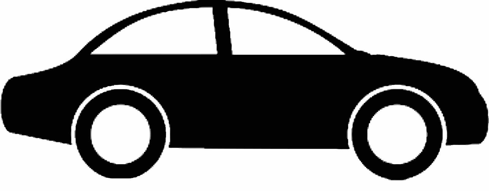 1598x626 Car Silhouette Side Png My Car