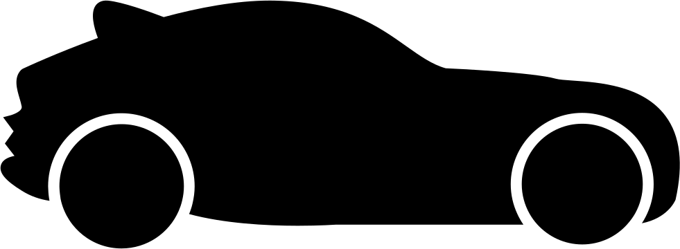 981x360 Hatchback Car Silhouette Svg Png Icon Free Download ( 8922