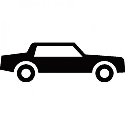 500x500 Car Side Silhouette