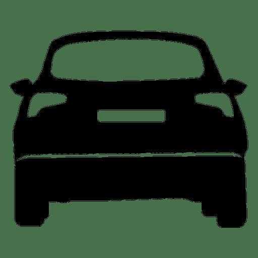 512x512 Hatchback Rear View Silhouette