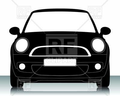 400x320 Small Car Silhouette