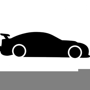 300x300 Car Silhouette Clipart Free Images
