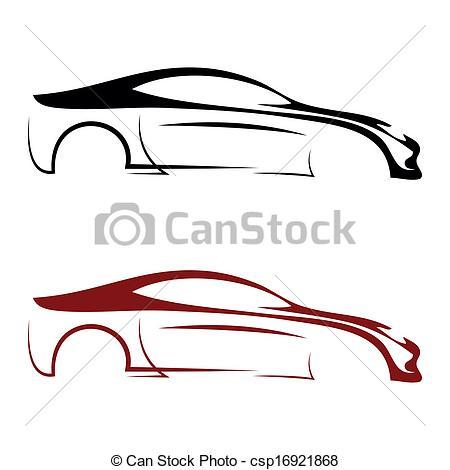450x470 Depositphotos Sport Car Silhouette Logo Free Images At Clker Com