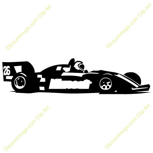 500x500 Race Car Silhouette Clip Art Clipart Collection
