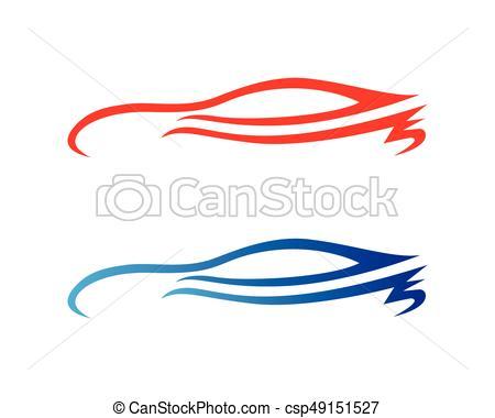 450x380 Car Silhouette Logo Vector Template Icons App Vector Illustration