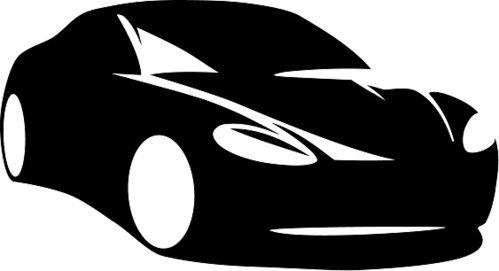499x271 Modern Car Silhouette Vector Premium Clipart