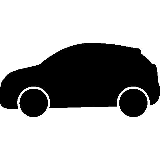 512x512 Car Black Side Silhouette
