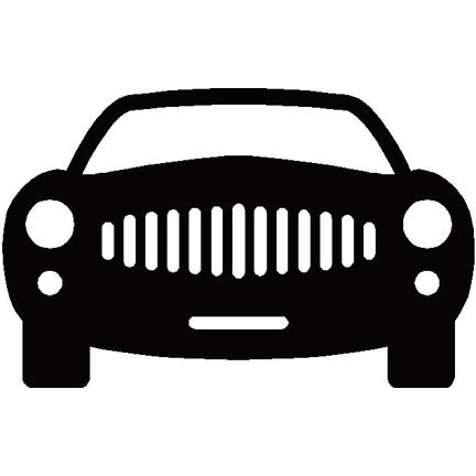 432x432 Car Silhouette Png