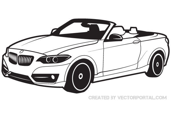 600x400 Bmw Car Vector Image Free Vectors Bmw Cars And Bmw
