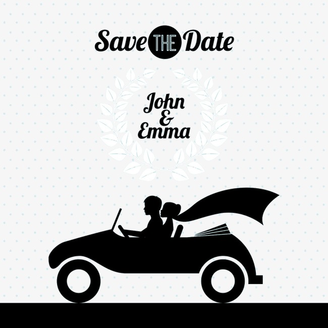 650x650 Sports Car Couple Silhouette Image, Sports Car, Lovers, Sketch Png