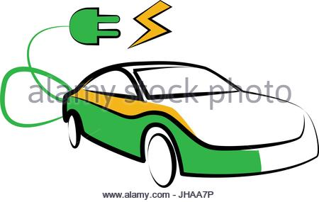 450x285 Simple Car Silhouette Vector Illustration Isolated On White Stock