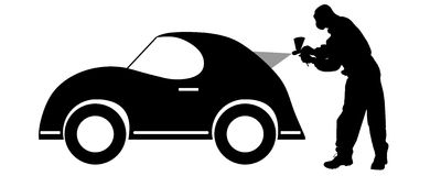 400x160 Car Painting Clipart