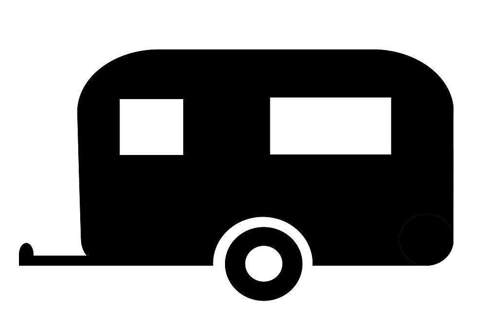 1000x667 Caravan Sign As Clipart By Naturaldigital Redbubble