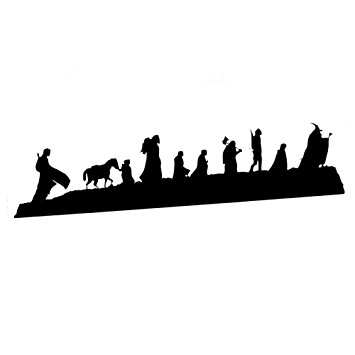 355x355 Decal Serpent Lord Of The Rings Inspired Caravan