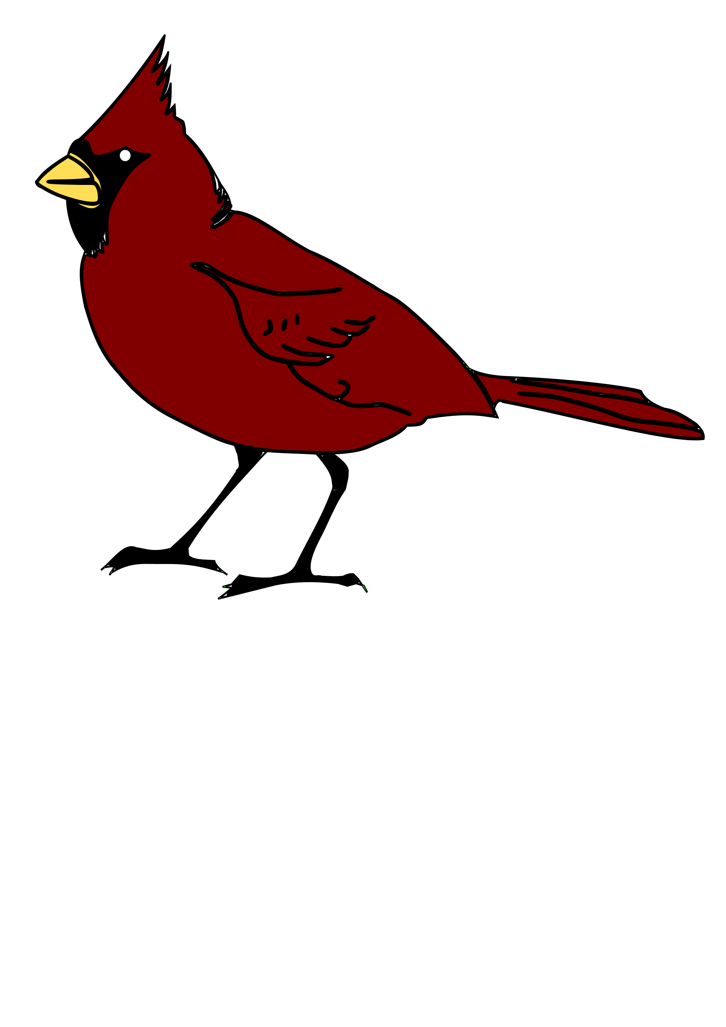 cardinal silhouette clip art at getdrawings com free for personal rh getdrawings com clipart cardinal bird clipart cardinal on branch