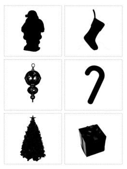263x350 Montessori 3 Part Cards And Silhouette Cards Safari Christmas Toob