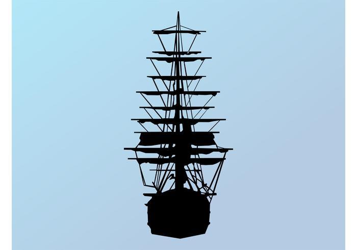 700x490 Ship Silhouette