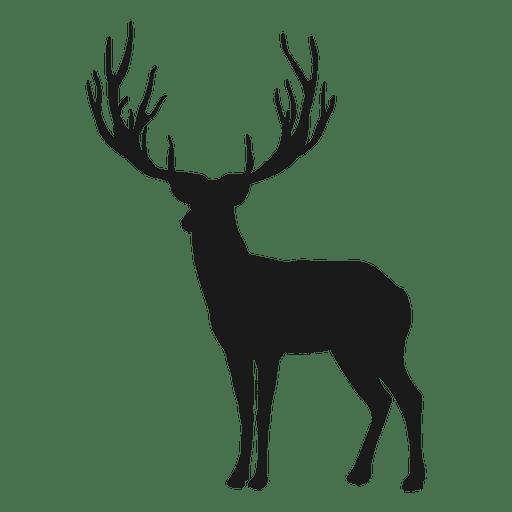 512x512 Reindeer Silhouette
