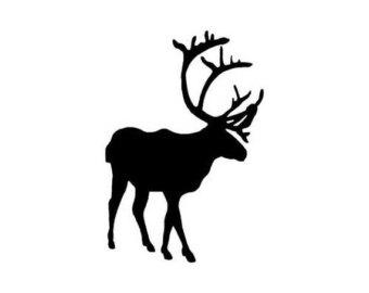 340x270 Caribou Sticker Etsy Au