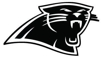 361x204 Carolina Panthers Vinyl Decals Carolina Panthers Logo Decal