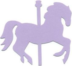 236x218 Carousel Horse Clipart Image Pink Carousel Horse In Silhouette