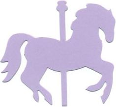 236x218 Carousel Horse Silhouette A Sweet And Simple Silhouette