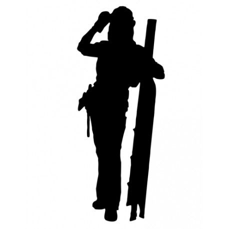 458x458 Carpenter Diyer Silhouette Awesome Silhouettes