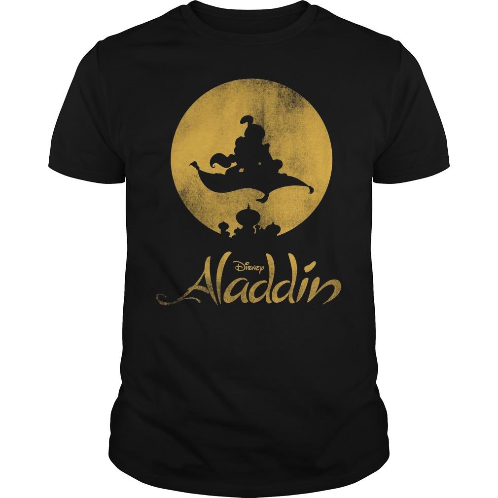 1010x1010 Disney Aladdin Magic Carpet Silhouette Shirt, Hoodie, Sweater