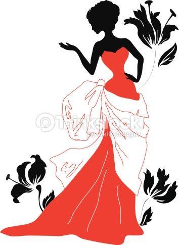 354x485 Dress Silhouette