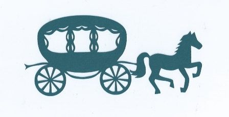 448x229 Cinderella Carriage Silhouette Images Cinderella