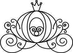 236x172 Cinderella Silhouette Clipart