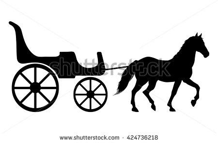 450x295 Horse Drawn Carriage Clipart Horse Cart