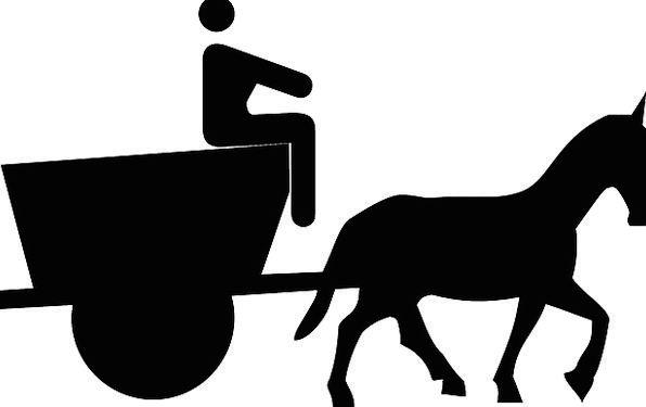 596x375 Cart, Wagon, Motorist, Carriage, Bearing, Driver, Man, Gentleman