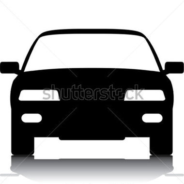 380x380 Car Front Clipart