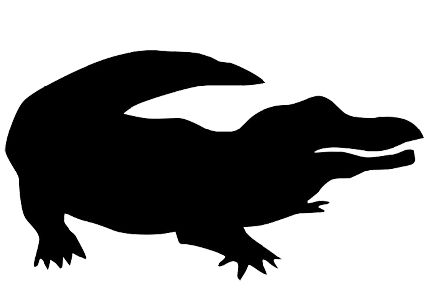 cartoon animal silhouette at getdrawings com free for personal use rh getdrawings com cartoon animal clipart black and white cartoon animal clipart black and white