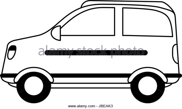 640x382 Car Silhouette Black And White Stock Photos Amp Images