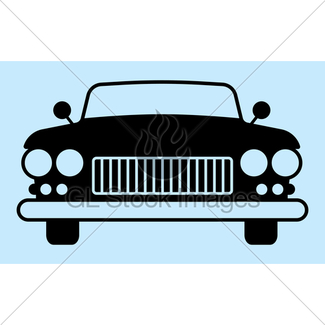 325x325 Car Silhouette Gl Stock Images