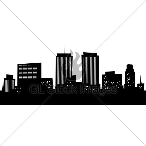 500x500 Cartoon Skyline Silhouette Of The City Of Syrac Amanda#39s