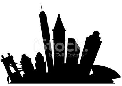 423x299 Cincinnati Cartoon City Stock Vectors