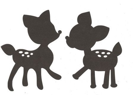 448x321 Deer Silhouette Our Lovebug Baby Someday )